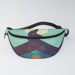Howling Wild Wolf Fanny Pack