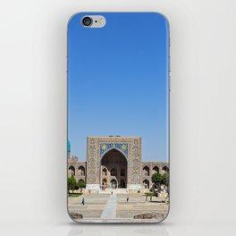 Uzbekistan, Samarkand: Registan iPhone Skin