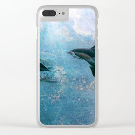 Transcending the Ocean Clear iPhone Case