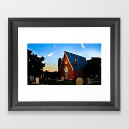 Woodward Hill Framed Art Print