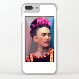 Techy Fridart Clear iPhone Case