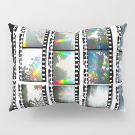Film Strips From Outer Space Pillow Sham