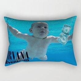 Nirvana - Nevermind Rectangular Pillow