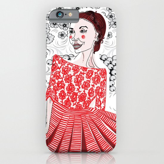 Red Dress iPhone & iPod Case