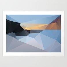 Sunrise Tamarama 2013 Art Print
