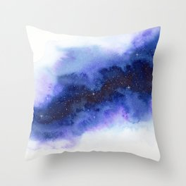 A Crack in the Universe Throw Pillow