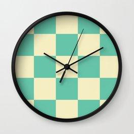 Classic Checker Laestrygonians Wall Clock