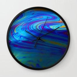 Soap Bubble 5 Wall Clock