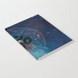 Om & Flower of Life Notebook