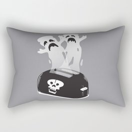 Ghost Toast Rectangular Pillow