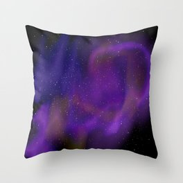 Spacey space Throw Pillow
