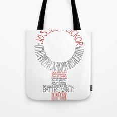 Jösses flickor Tote Bag