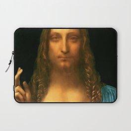 "Leonardo da Vinci ""Salvator Mundi"" Laptop Sleeve"