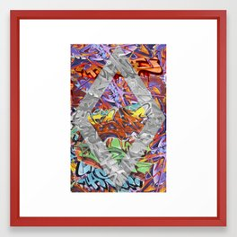 Graffiti Framed Art Print