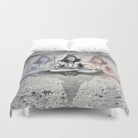 shiva Duvet Covers featuring Shiva by Jonnea Herman