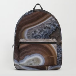 "Agate crystal texture #2 ""more detail"" Backpack"