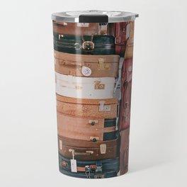 Vintage Suitcases Travel Mug