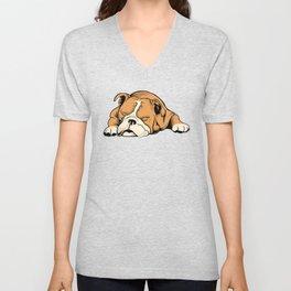English Bulldog | Dog Lover Unisex V-Neck