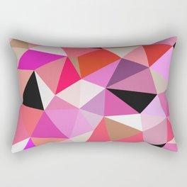 Lipstick Tris Rectangular Pillow