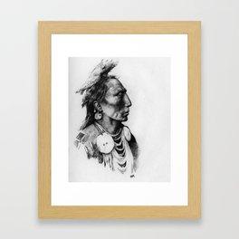 Medicine Crow Framed Art Print
