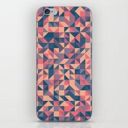 Triangles III iPhone Skin