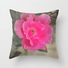 Pink Me Throw Pillow