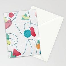 Geometric Miró Pattern Stationery Cards