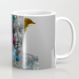 Broken Bust Sculpture Coffee Mug
