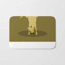 Monogram T Pony Bath Mat