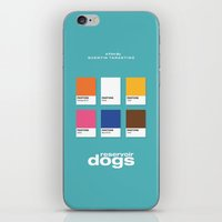 reservoir dogs iPhone & iPod Skins featuring Reservoir Dogs by Rahma Projekt