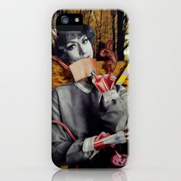 The Fall   Collage iPhone Case