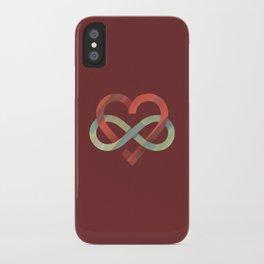 Infinite Love iPhone Case