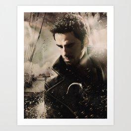 Movie Poster Set - Captain Hook Art Print