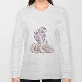 Cobra Snake Tattoo Long Sleeve T-shirt
