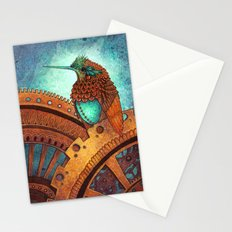 Clockwork Hummingbird Stationery Cards