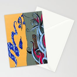 Whale Naked Stationery Cards