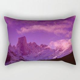 Naranjo de Bulnes in Picos de Europa National Park. Rectangular Pillow