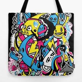 4 Seasons Doodle Tote Bag