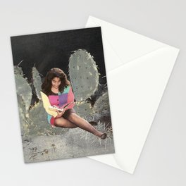 Girl Reading 2 Stationery Cards