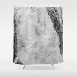 The hidden waterfall Shower Curtain