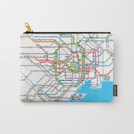Tokyo Subway map Carry-All Pouch