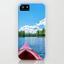 Just Keep Paddling iPhone Case