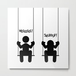 Mood Swings Metal Print
