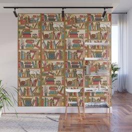 Bookshelf No. 1 Wall Mural