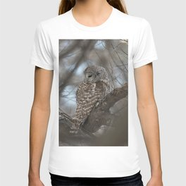 Sleepy Owl T-shirt