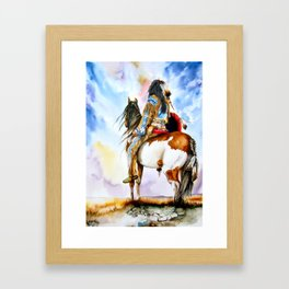 Into The Promised Land Framed Art Print