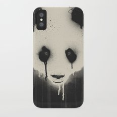 PANDA STARE iPhone X Slim Case