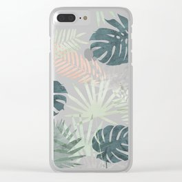 Tropicalia Night Clear iPhone Case