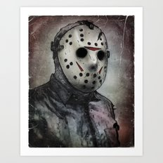 Jason Portrait Art Print