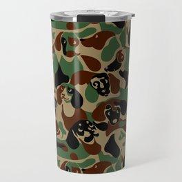 Dachshund  Camouflage Travel Mug